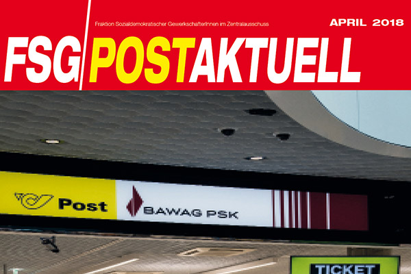 FSG Post Aktuell  -  Ausgabe April 2018